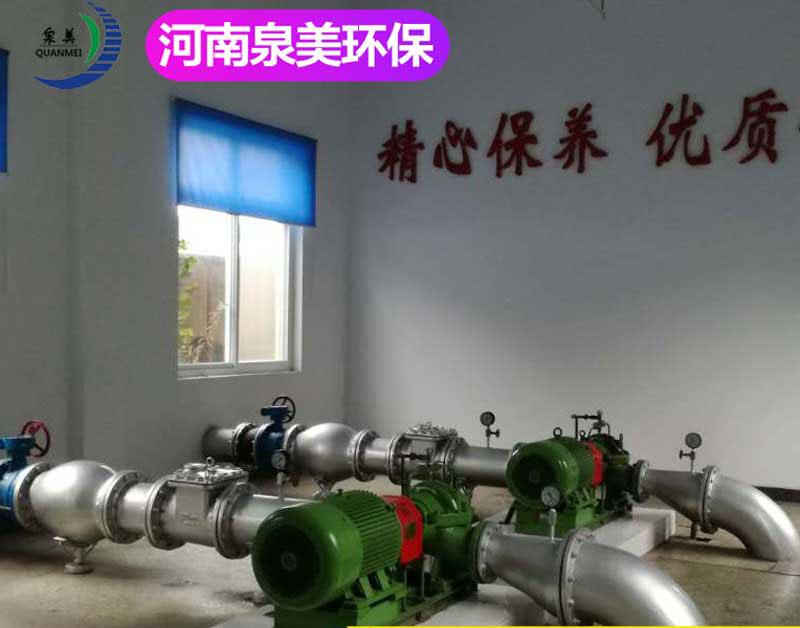 洛阳北站给水所生活污水处理设备应用案例