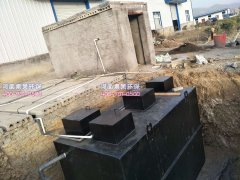 地埋式污水处理设备的安装方式