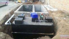 地埋式污水处理设备的操作全过程