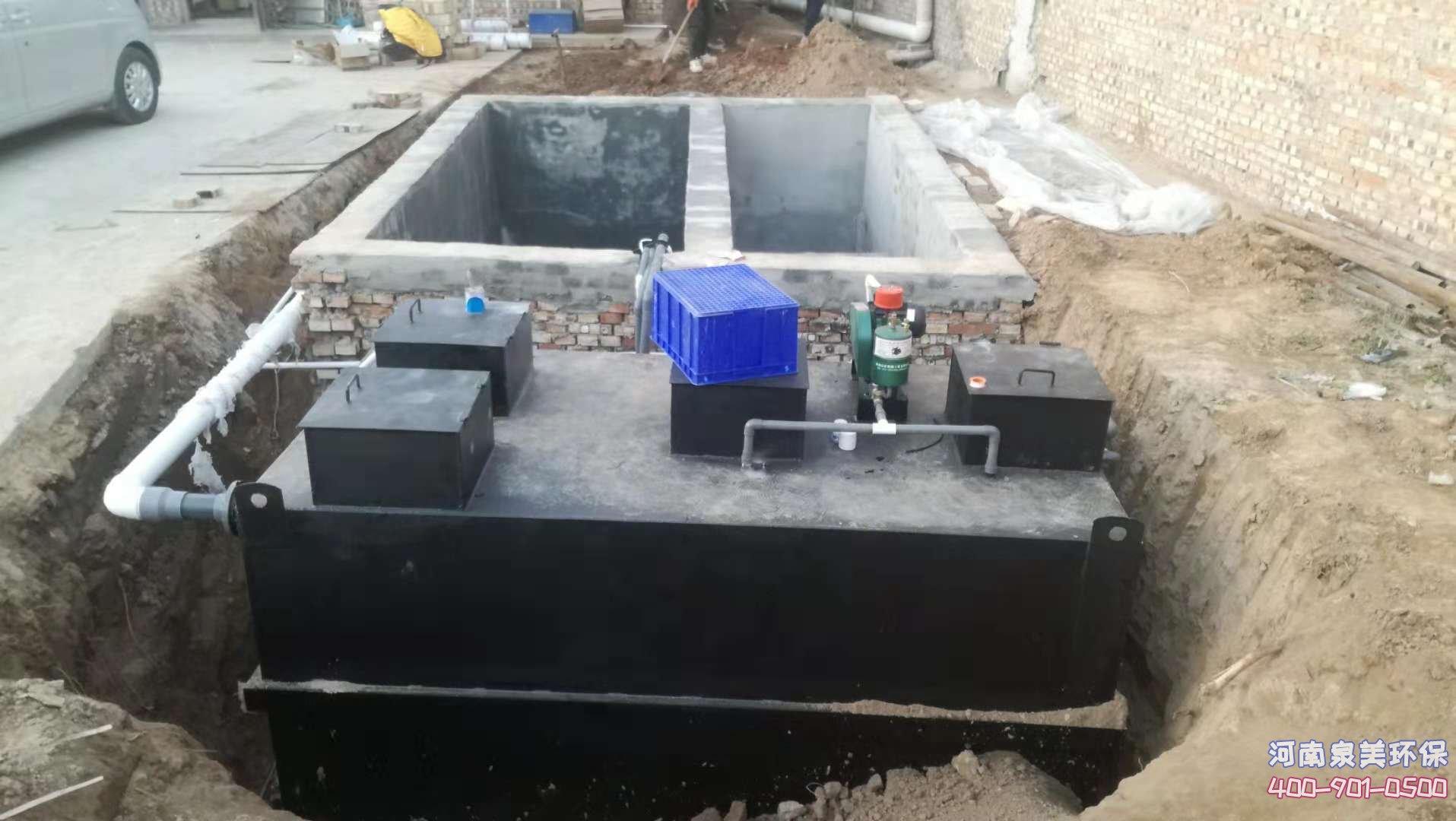 生活污水处理设备的管理维护