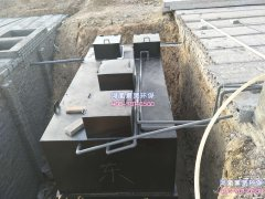 地埋式污水处理设备主要包括哪些