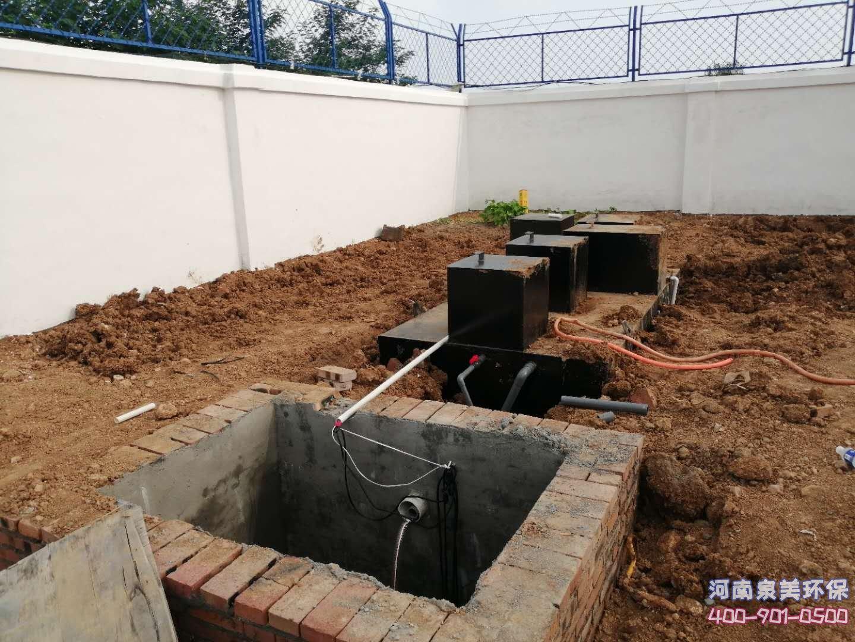 地埋式污水处理设备日常维护