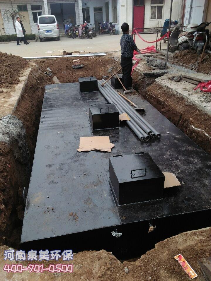 地埋式污水处理设备是不是非标设备