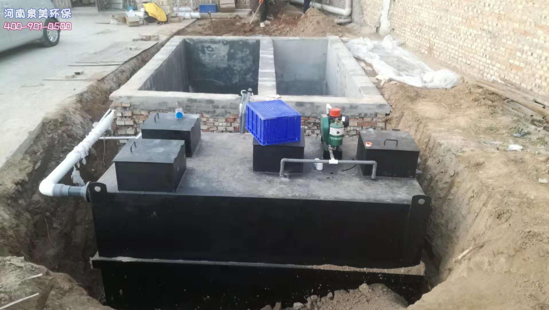不同材质生活污水处理设备的优缺点