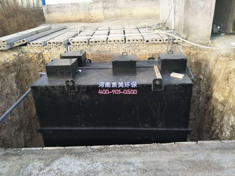 地埋式污水处理设备使用方法