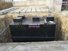 地埋式污水处理设备这样用更持久