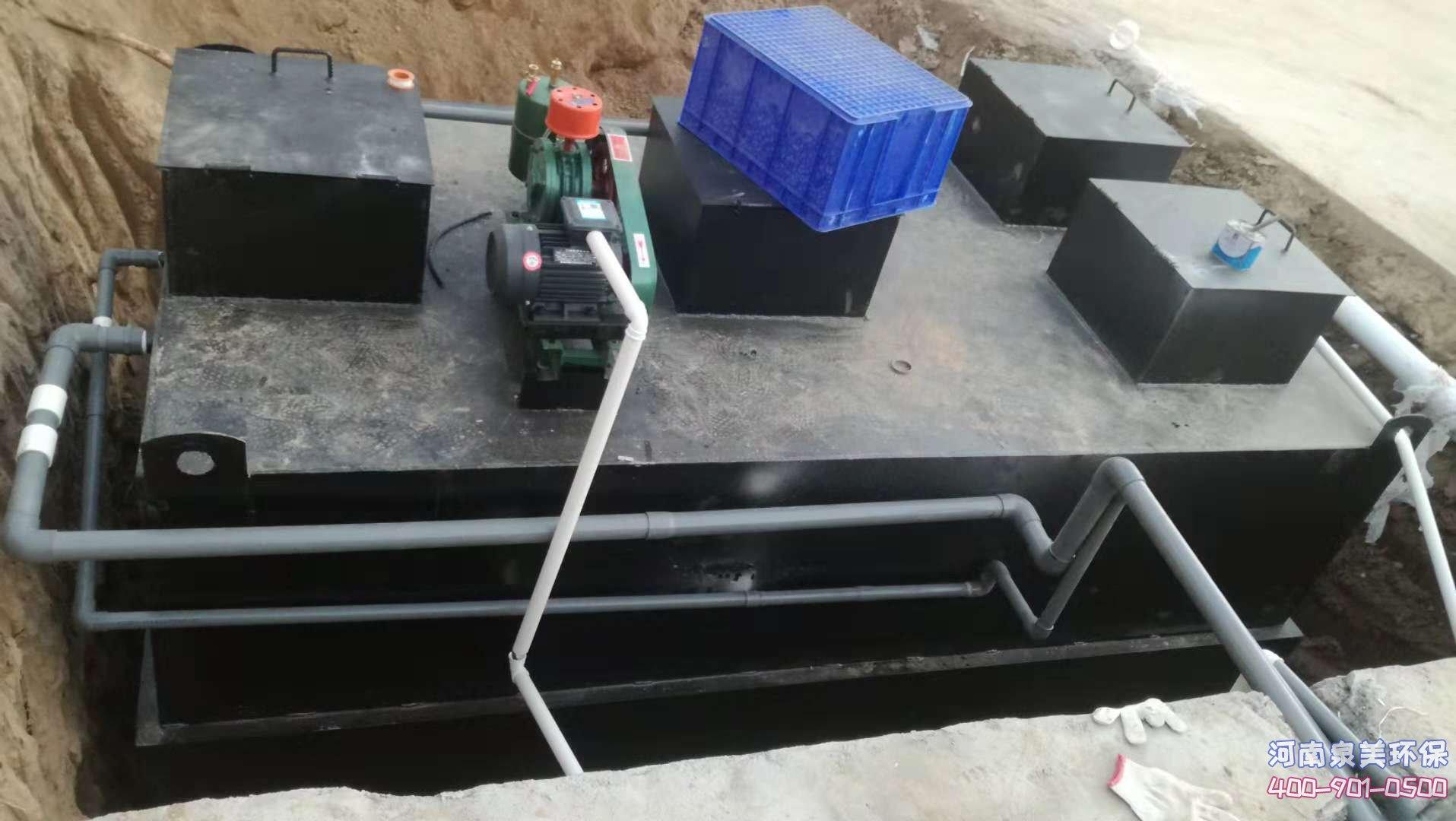 地埋式污水处理设备怎么选择