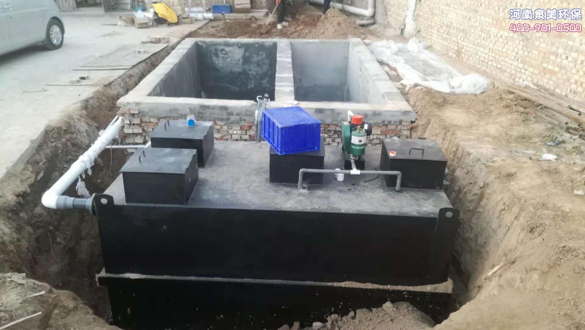 地埋式污水处理设备能解决别墅污水
