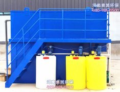 印染用的污水处理设备常见故障有哪些