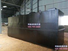 工业污水处理设备如何确定各阶段运行时间的?