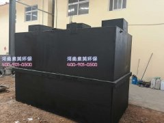 医院污水处理成套设备出现大量漂泥咋回事?